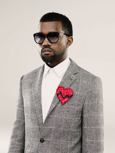 Lighted Broken Heart Patch - As Worn by Kanye West