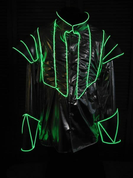 El Wire Designs Enlighted Illuminated Clothing