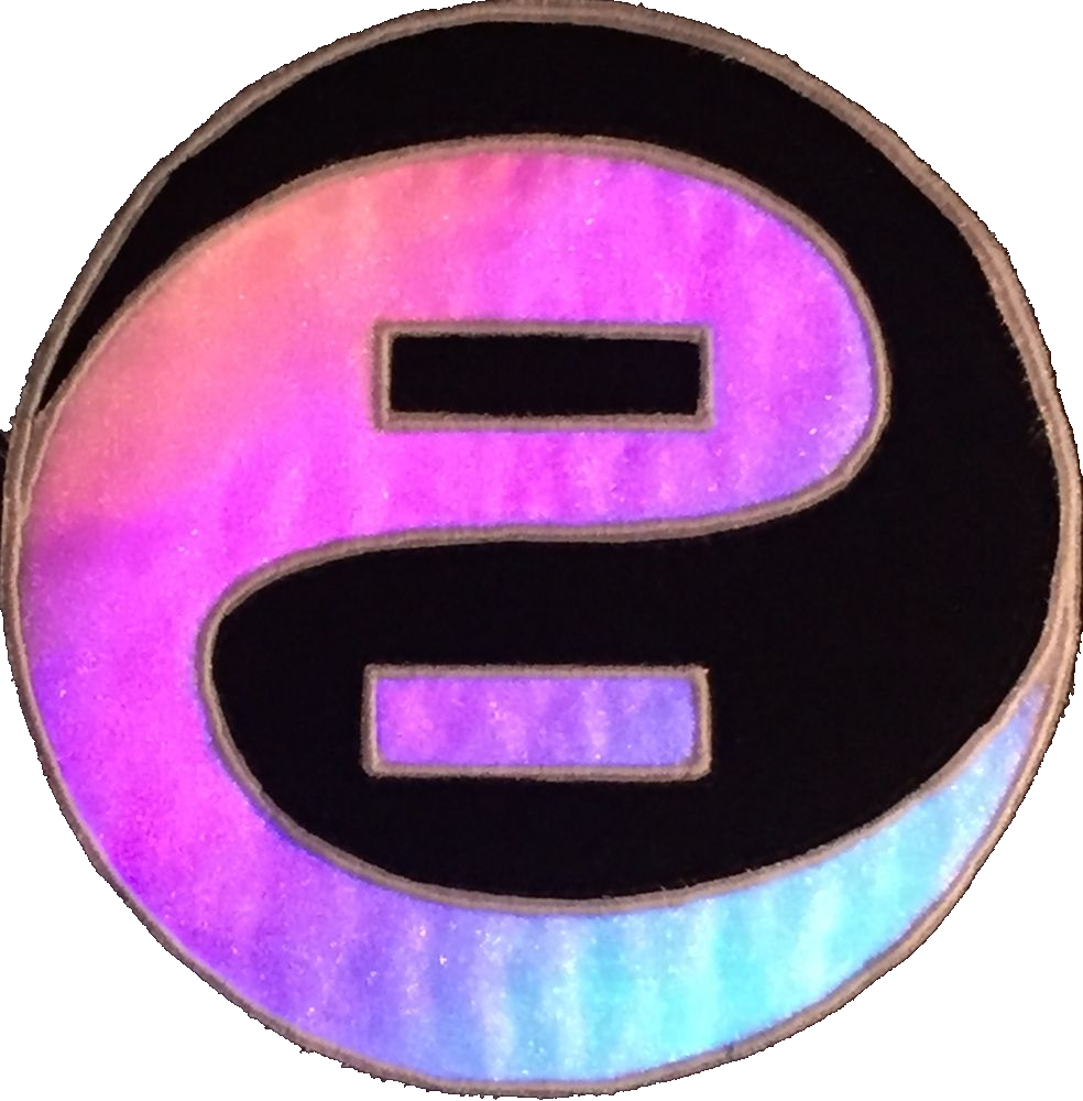embroidered enlighted logo with LED backlighting