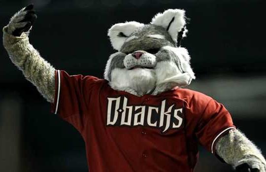 Arizona Diamondbacks Mascot - Enlighted Designs