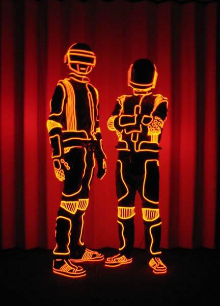 Daft Punk - Grammys 2008 - Enlighted Designs
